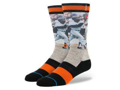 San Francisco Giants Willie McCovey Stance MLB Legends Socks