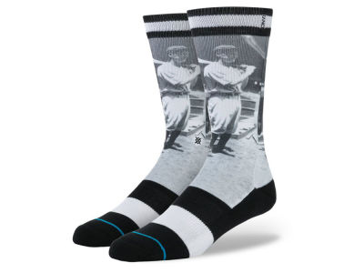 New York Yankees Lou Gehrig Stance MLB Legends Socks