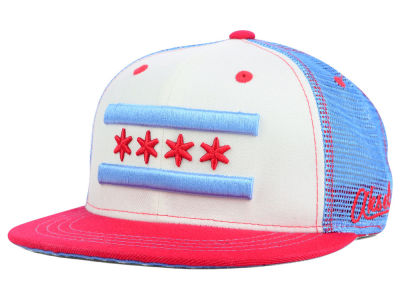 Chicago Flag Meshback Hat