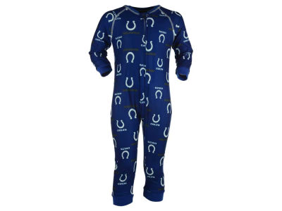 Indianapolis Colts Outerstuff NFL Toddler Raglan Zip Up Coverall