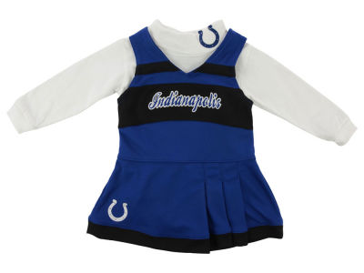 Indianapolis Colts NFL Toddler Girls Turtleneck Cheer Jumper