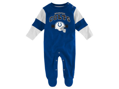 Indianapolis Colts NFL Newborn Team Believer Coverall