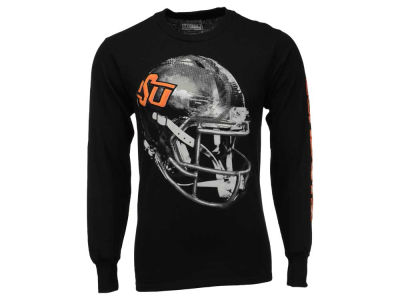 Oklahoma State Cowboys NCAA Men's Reflective Sideline Completion Long Sleeve T-Shirt