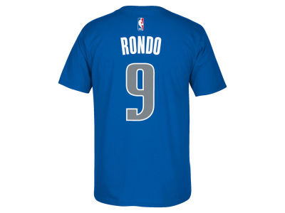Dallas Mavericks Rajon Rondo adidas NBA Men's Player T-Shirt