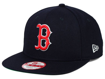 Boston Red Sox New Era MLB Premium Authentic 9FIFTY Strapback Cap