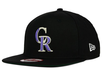 Colorado Rockies New Era MLB Premium Authentic 9FIFTY Strapback Cap