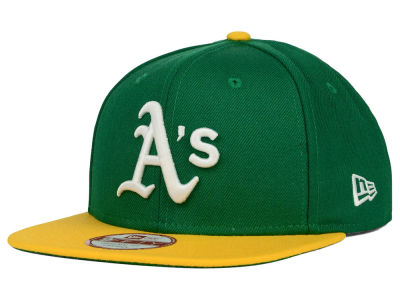 Oakland Athletics New Era MLB Premium Authentic 9FIFTY Strapback Cap
