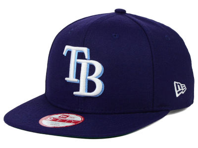 Tampa Bay Rays New Era MLB Premium Authentic 9FIFTY Strapback Cap