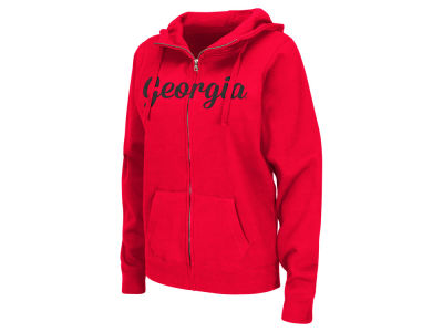 Georgia Bulldogs NCAA Women's Aurora Full Zip Hoodie