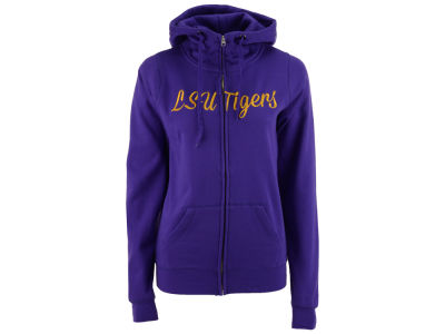 LSU Tigers NCAA Women's Aurora Full Zip Hoodie