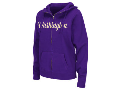 Washington Huskies NCAA Women's Aurora Full Zip Hoodie