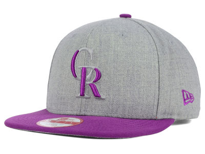 Colorado Rockies New Era MLB Speed Up 9FIFTY Snapback Cap