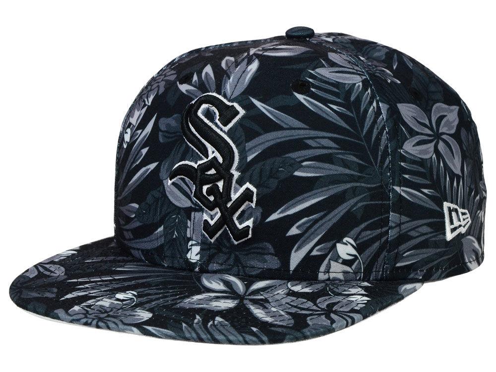 Chicago White Sox New Era MLB Night Tropic 9FIFTY Snapback Cap ... 993b22432f