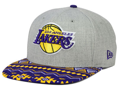 Los Angeles Lakers New Era NBA HWC Neon Mashup 9FIFTY Snapback Cap