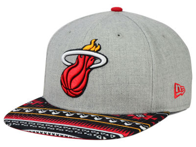 Miami Heat New Era NBA HWC Neon Mashup 9FIFTY Snapback Cap