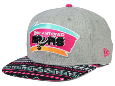 San Antonio Spurs New Era NBA HWC Neon Mashup 9FIFTY Snapback Cap