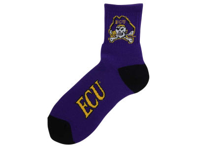 East Carolina Pirates Ankle TC 501 Socks