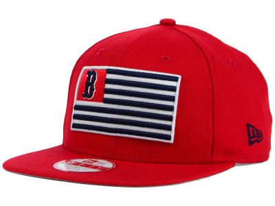 Boston Red Sox New Era MLB Team Merica 9FIFTY Snapback Cap