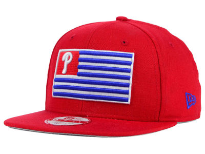 Philadelphia Phillies New Era MLB Team Merica 9FIFTY Snapback Cap