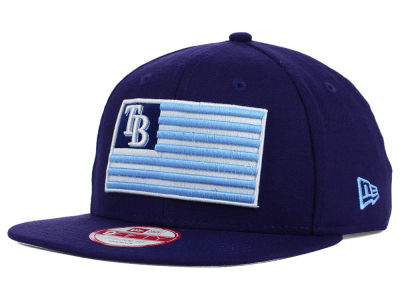 Tampa Bay Rays New Era MLB Team Merica 9FIFTY Snapback Cap