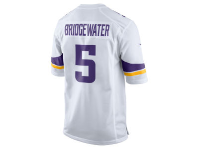 Minnesota Vikings Teddy Bridgewater Nike NFL Men's Game Jersey