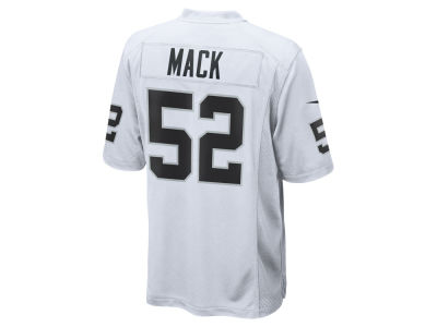 Oakland Raiders Khalil Mack Nike NFL Men's Game Jersey