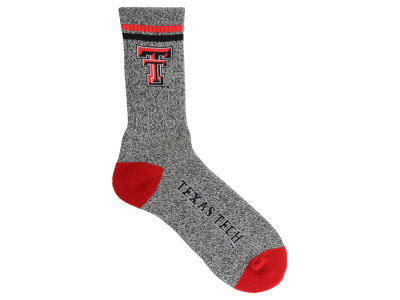 Texas Tech Red Raiders For Bare Feet Two Stripe Socks