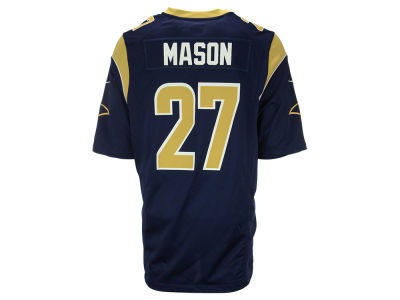 Los Angeles Rams Tre Mason Nike NFL Men's Game Jersey