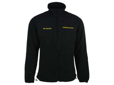 Oregon Ducks Columbia NCAA Men's Fast Tech Fleece Jacket