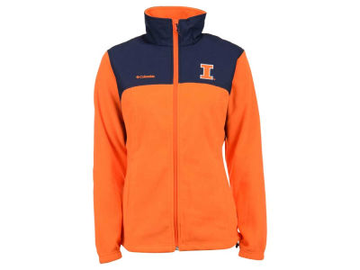 Illinois Fighting Illini Columbia NCAA Women's Fast Tech Jacket