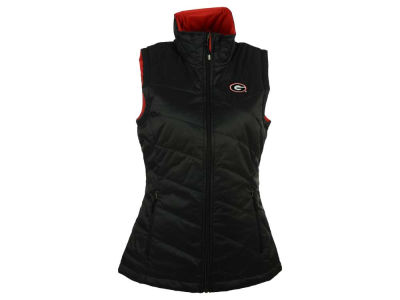 Georgia Bulldogs Columbia NCAA Women's Powder Puff Vest