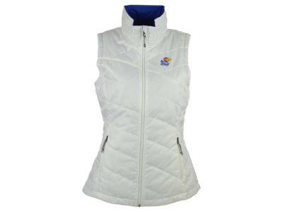 Kansas Jayhawks Columbia NCAA Women's Powder Puff Vest