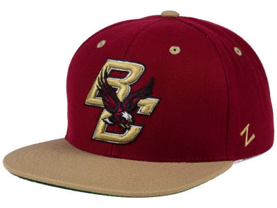 Boston College Eagles Zephyr NCAA Apex Snapback Hat