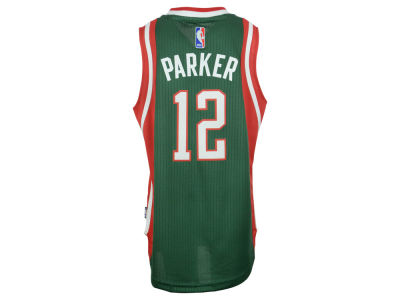 Milwaukee Bucks Jabari Parker adidas NBA Youth Swingman Jersey