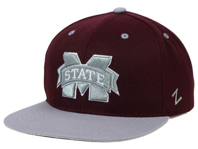 Mississippi State Bulldogs Zephyr NCAA Apex Snapback Hat