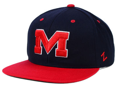Ole Miss Rebels Zephyr NCAA Apex Snapback Hat