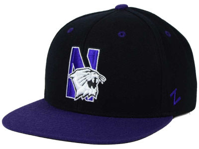 Northwestern Wildcats Zephyr NCAA Apex Snapback Hat