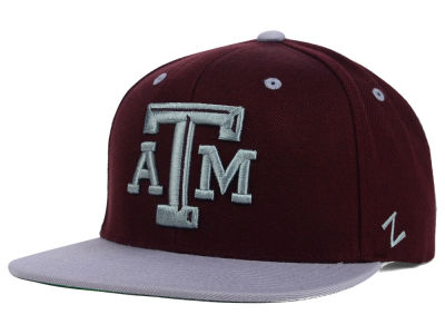 Texas A&M Aggies Zephyr NCAA Apex Snapback Hat