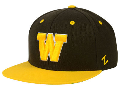 Wyoming Cowboys Zephyr NCAA Apex Snapback Hat