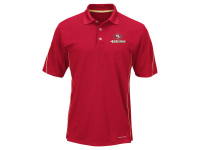 San Francisco 49ers Majestic NFL Men's Field Classic Synthetic Polo XV Shirt