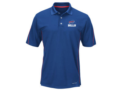 Buffalo Bills Majestic NFL Men's Field Classic Synthetic Polo XV Shirt