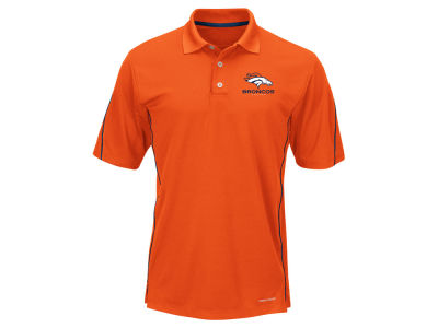 Denver Broncos Majestic NFL Men's Field Classic Synthetic Polo XV Shirt