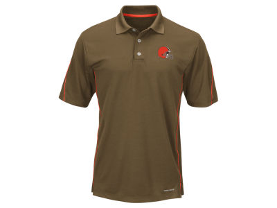 Cleveland Browns Majestic NFL Men's Field Classic Synthetic Polo XV Shirt
