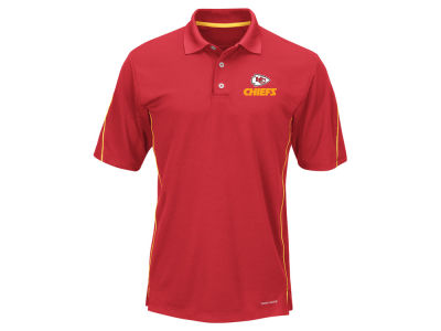 Kansas City Chiefs Majestic NFL Men's Field Classic Synthetic Polo XV Shirt