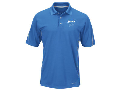 Detroit Lions Majestic NFL Men's Field Classic Synthetic Polo XV Shirt