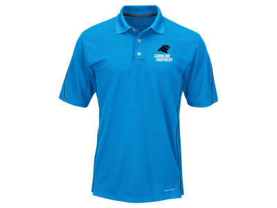 Carolina Panthers Majestic NFL Men's Field Classic Synthetic Polo XV Shirt