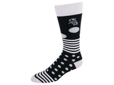 Chicago White Sox Dots and Stripes Sock