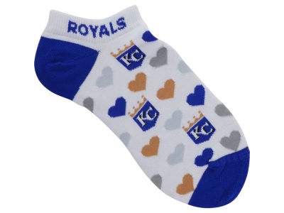 Kansas City Royals Lady Heart Logo Repeat Sock