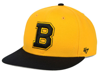 Boston Bruins '47 NHL Sure Shot 2 Tone Snapback Cap