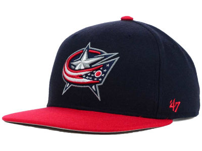 Columbus Blue Jackets '47 NHL Sure Shot 2 Tone Snapback Cap